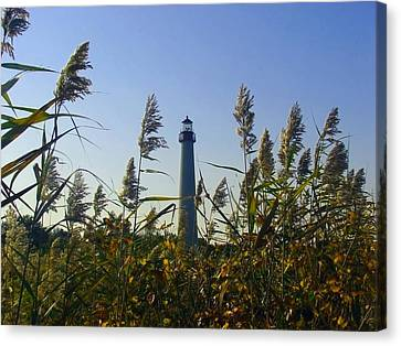 Cape May Light Autumn Canvas Print by Kevin  Sherf