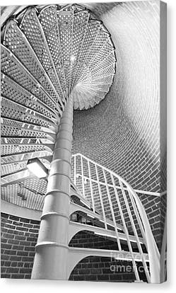 Cape May Lighthouse Stairs Canvas Print by Dustin K Ryan