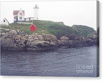 Cape Neddick Lighthouse Canvas Print by Thomas R Fletcher