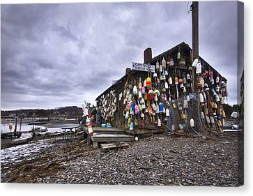 Cape Neddick Lobster Pound Canvas Print by Eric Gendron