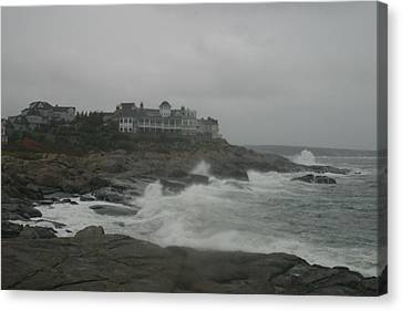 Cape Neddick Maine Canvas Print by Imagery-at- Work