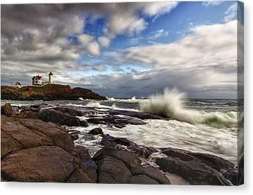 Cape Neddick Maine Canvas Print by Rick Berk