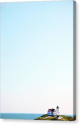 Cape Neddick nubble Lighthouse Canvas Print