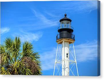 Cape San Blas Lighthouse Canvas Print