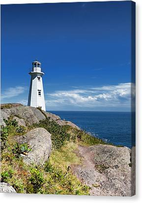 Cape Spear Lighthouse Vrt Canvas Print by Steve Hurt