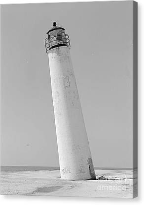 Cape St. George Lighthouse Florida Print Two Canvas Print by Pd
