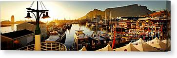 Cape Town's Waterfront Canvas Print