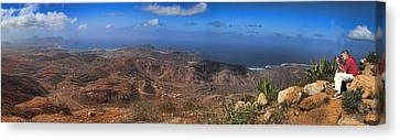 Cape Verde Panorama Canvas Print by David Smith