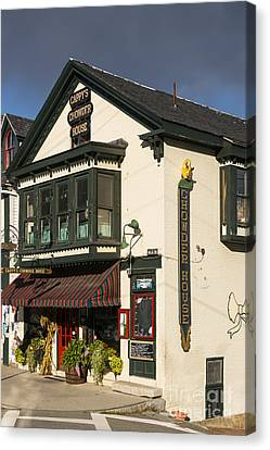Chowder House Canvas Print - Capppy's Chowder House by Bob Phillips