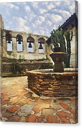 Capistrano Fountain Canvas Print