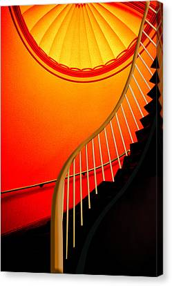 Capital Stairs Canvas Print