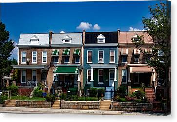 Side Porch Canvas Print - Capital Street Homes by Mountain Dreams