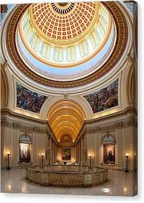 Capitol Interior II Canvas Print