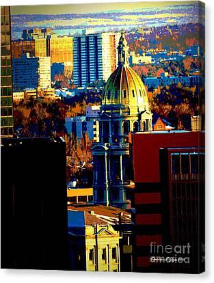 Capitol Treasure Canvas Print