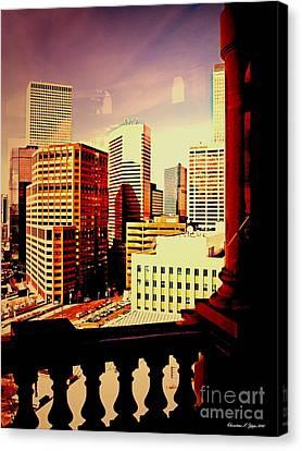 Capitol View Canvas Print