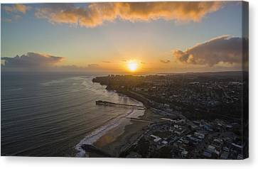 Capitola Dreamin' Canvas Print by David Levy