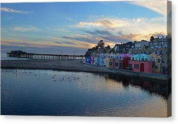 Capitola In October Canvas Print by Alex King