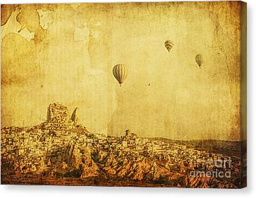 East Village Canvas Print - Cappadocia by Andrew Paranavitana
