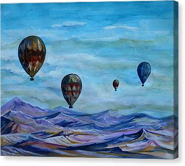 Cappadocia Gravity Canvas Print by Anna Duyunova