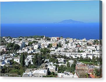 Capri Island, Italy Canvas Print by Lilach Weiss