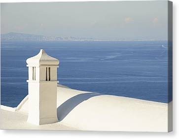 Canvas Print featuring the photograph Capri by Silvia Bruno