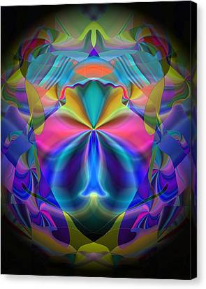Canvas Print featuring the digital art Caprice by Lynda Lehmann