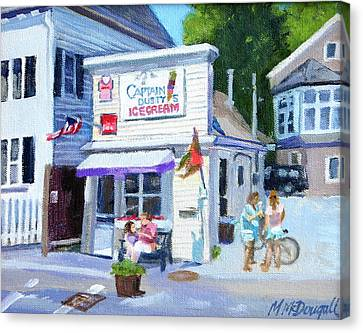 Capt. Dusty's Ice Cream Canvas Print