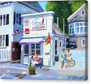 Capt. Dusty's Ice Cream Canvas Print by Michael McDougall