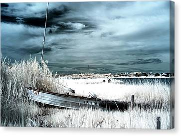 Capt Steve Blue Infrared Canvas Print
