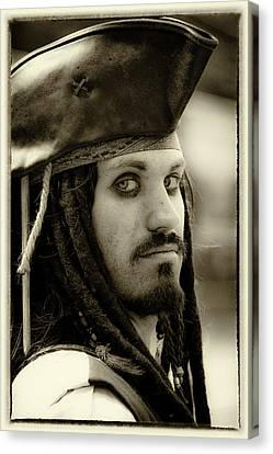 Captain Jack Sparrow Canvas Print by David Patterson