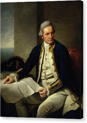 Captain James Cook Canvas Print