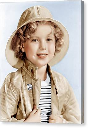 Captain January, Shirley Temple, 1936 Canvas Print by Everett
