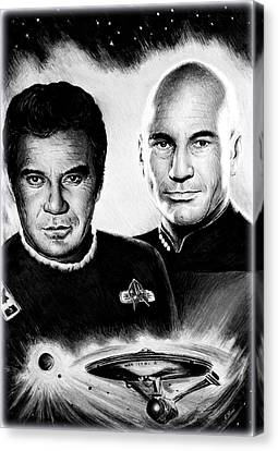 Captains Canvas Print by Andrew Read