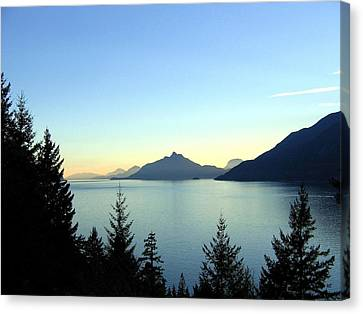 Captivating Howe Sound Canvas Print by Will Borden