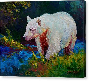 Salmon Canvas Print - Capture The Spirit by Marion Rose