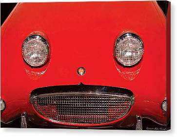 Car - Say Cheese Canvas Print by Mike Savad