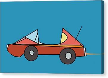 Car 1 Canvas Print by Denny Casto