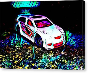 Car 3 Canvas Print by Clint Day