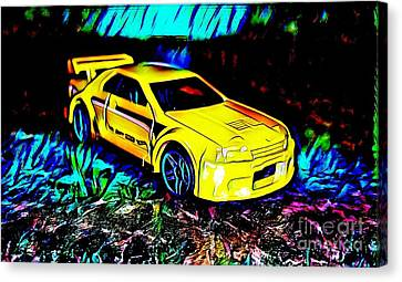 Car 4 Canvas Print by Clint Day