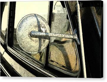 Car Alfresco I Canvas Print by Kathy Schumann