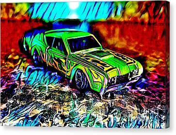 Car Canvas Print by Clint Day