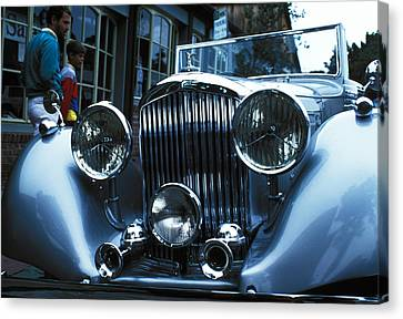 Car Envy Canvas Print by Carl Purcell