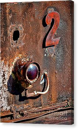 Car Number Two Canvas Print by Olivier Le Queinec