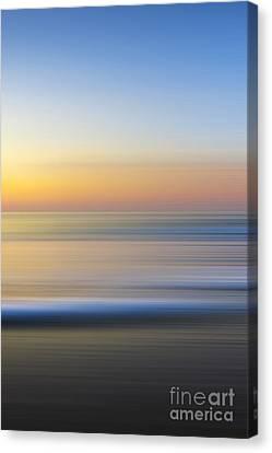 Caramel Dawn - Part 3 Of 3 Canvas Print by Sean Davey