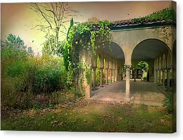 The Nature Center Canvas Print - Caramoor Amore by Diana Angstadt