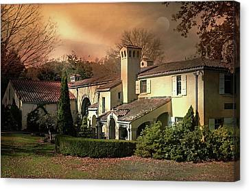 The Nature Center Canvas Print - Caramoor Estate At Dusk by Diana Angstadt