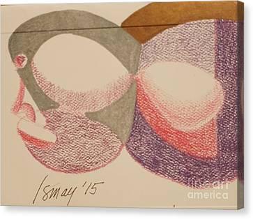 Card Egghead Canvas Print