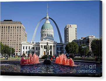 Cardinal Nation Canvas Print