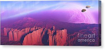 Cardinal Pointe Canvas Print by Corey Ford