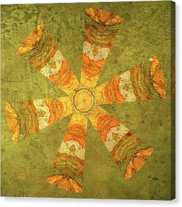 Tangerines Canvas Print - Carefree by Bonnie Bruno